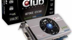 Zöld GeForce GTX 560 Ti a Club 3D-től kép