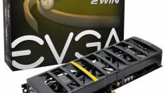 EVGA GeForce GTX 560 Ti 2Win két GPU-val kép