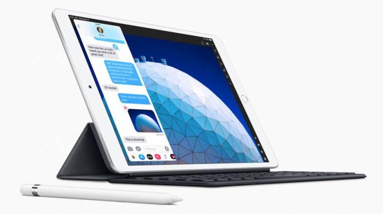Kijelzőbe ágyazott ujjlenyomat-olvasót kaphat az új iPad Air kép