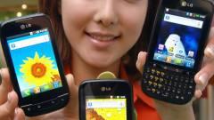 Két mobillal bővül az LG Optimus család kép