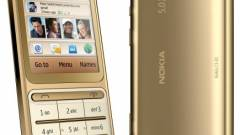 Aranyban fürdik a Nokia C3-01 Gold Edition kép