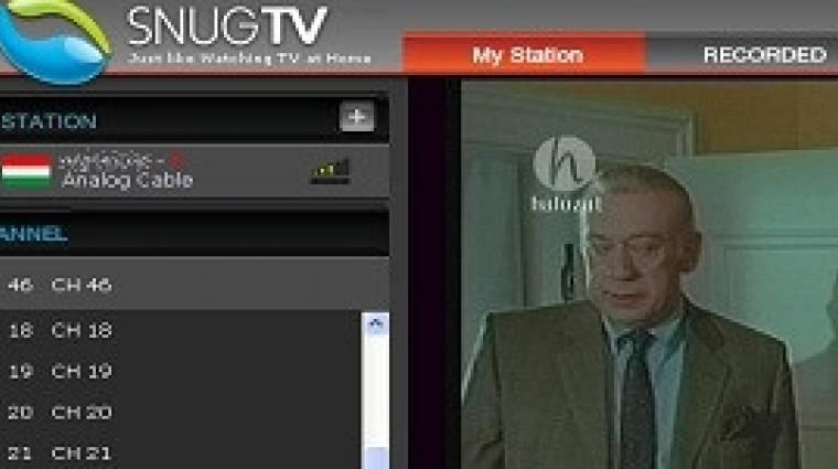 Ingyenes távtévézde SnugTV-vel kép