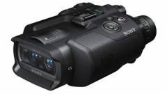 Digitális 3D Full HD távcső-kamerákat gyárt a Sony kép