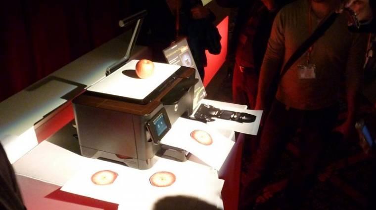 HP TopShot LaserJet Pro M275 teszt kép