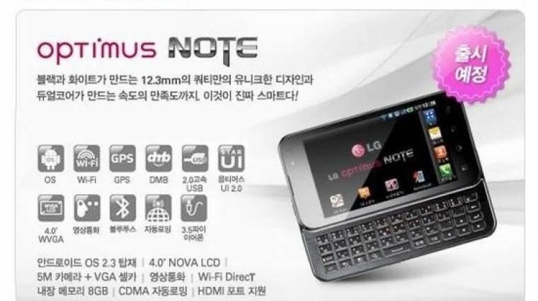 TV-tuneres okostelefon az LG-től kép