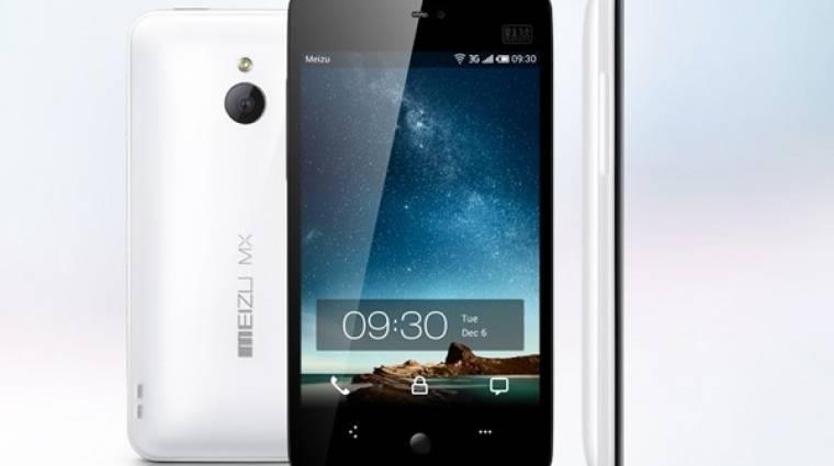 Meizu MX: hivatalosan is felső kategóriás kép