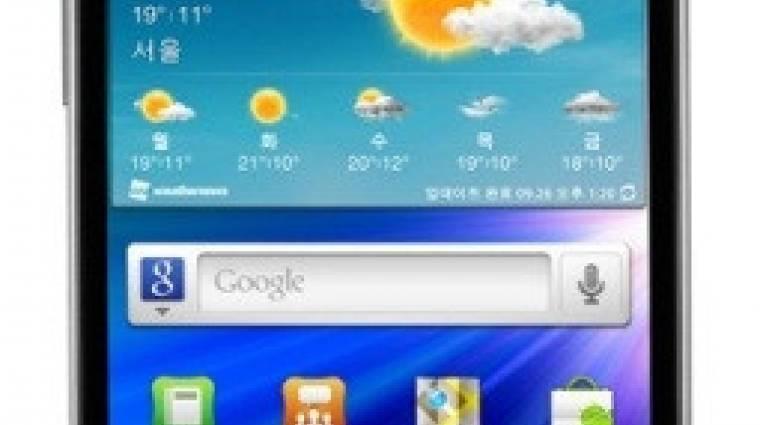 HD kijelző került az új Galaxy S II-be kép