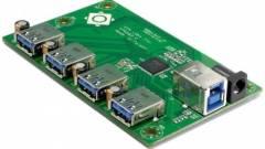 Gyorsabb, 4 portos USB 3.0 vezérlő a VIA Labs-től kép