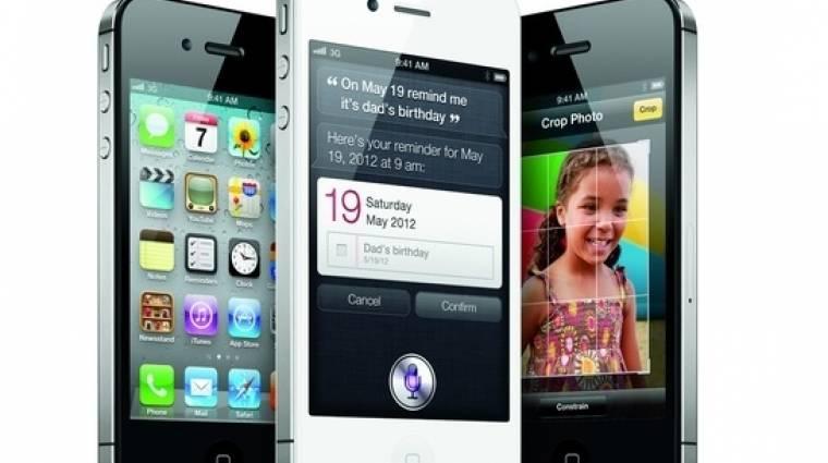 Kilóra veszik az iPhone 4s-t (frissítve!) kép