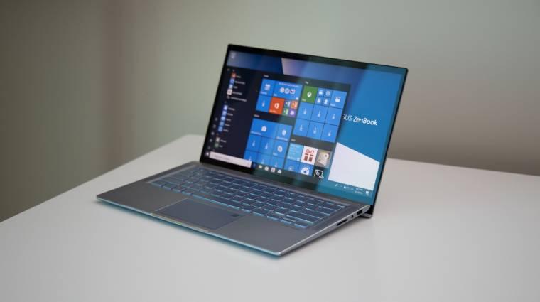 Ryzen CPU és GeForce GPU kerül a következő ASUS ZenBookba kép