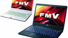 A Fujitsu újabb modell alkatú notebook-okat mutatott be kép
