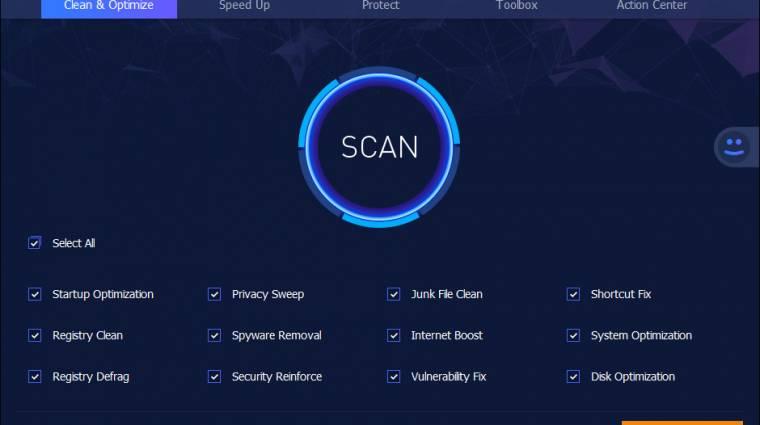 Adatvédelemben erősít az új Advanced SystemCare kép