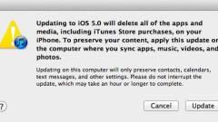 iOS 5 frissítés: veszélyben az adataink? kép
