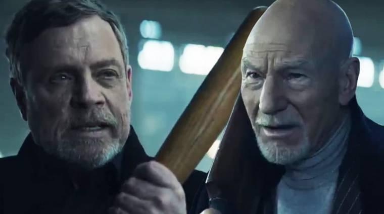 Mark Hamill és Patrick Stewart kajás összecsapása egészen furcsa élmény bevezetőkép