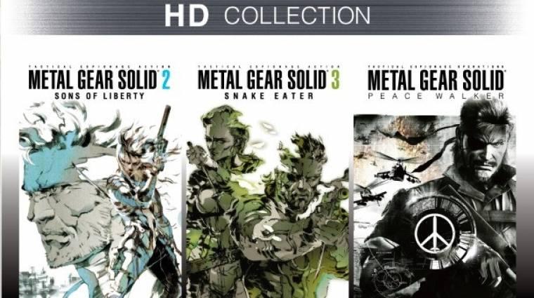 Metal Gear Solid HD Collection- már csak jövőre bevezetőkép