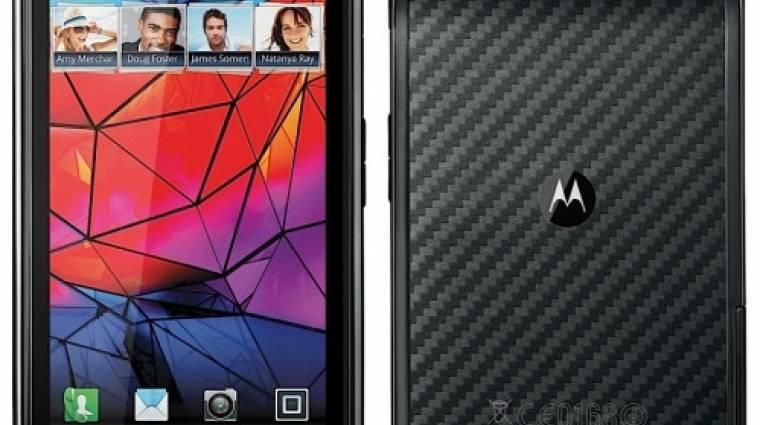 Pengevékony lett a Motorola RAZR kép
