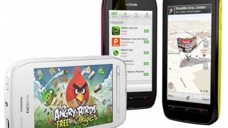 Kellemes áron kerül piacra a Nokia 603 kép