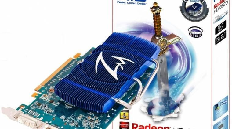Csendes Radeon HD 6670 az HIS-től kép