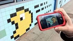 Retró játékvilág a metróállomáson - videó kép