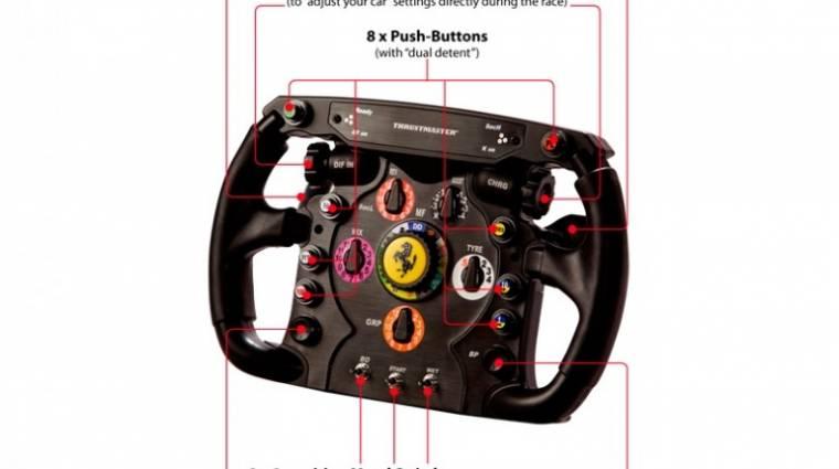 Ferrari F1 kormány a valóságra törekvő játékosoknak bevezetőkép