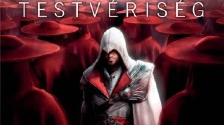 Assassin's Creed Testvériség - megjelent a regény magyarul bevezetőkép
