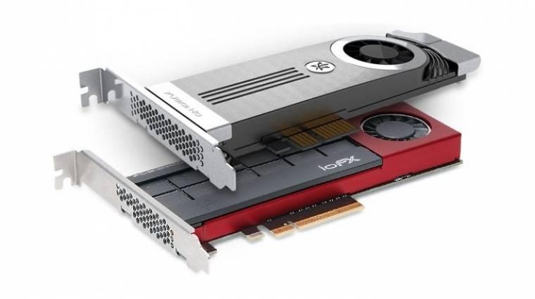 1,6 terabájtos SSD a Fusion-io műhelyéből kép