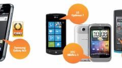 Megfizethető okostelefonok mustrája kép