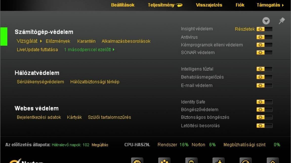 Norton Internet Security 2012 kép