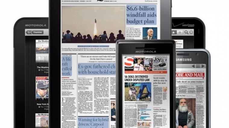 Nagy mennyiségű olvasnivaló érkezik a PlayBookra kép