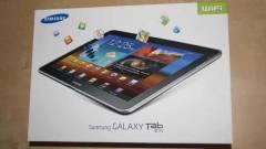 Az Apple miatt így változik a Samsung Galaxy Tab 10.1N - videó kép