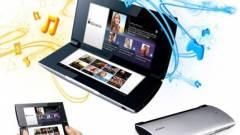 Angliában már kapható a dupla kijelzős Sony tablet kép