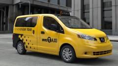Ilyen lesz a jövő taxija - persze nem nálunk (fotók) kép