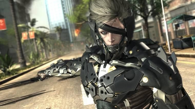 A cyberninja visszatér - Metal Gear Rising: Revengeance bevezetőkép