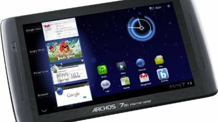 Kedvező áron jön az Archos Android 3.2-es tablete kép