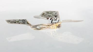 Ez a szárnyas mikrochip az eddigi legkisebb ember alkotta repülő szerkezet kép