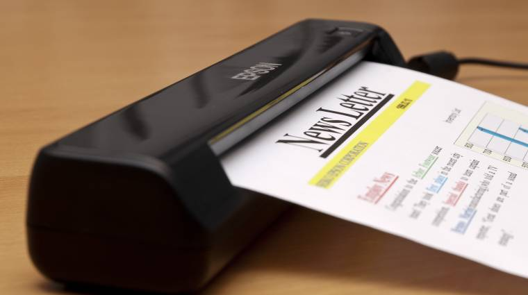 Mobil kéziszkenner az Epsontól kép