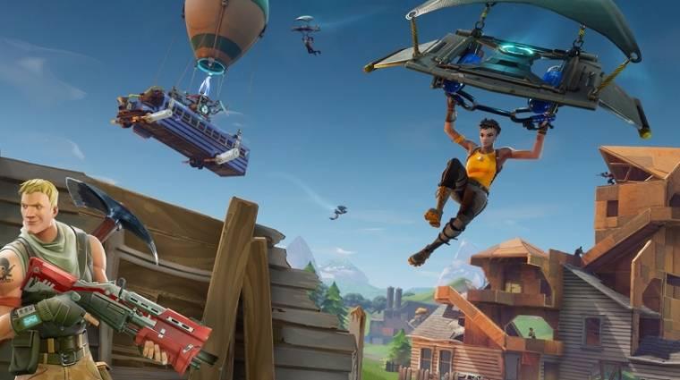 Fortnite - így kell ingyenes játékkal 233 millió dollárt keresni bevezetőkép