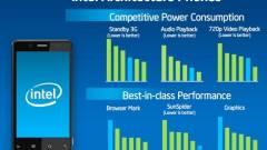 Intel: küszöbön az x86-os mobilok debütálása kép