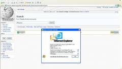 Újabb tüntetés készül a régi Internet Explorerek ellen kép