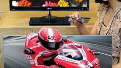 3D-s, IPS paneles LG monitor vékony kávával kép