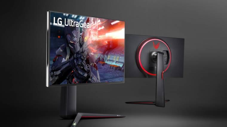 Megérkezett az LG 144 Hz-es, 4K-s IPS-monitora kép
