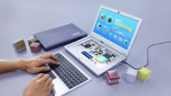 Ilyen lesz a Raspberry Pi lapka PC-ből épített laptop kép