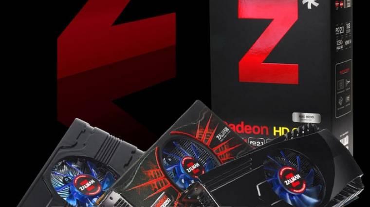 A Zalman az AMD oldalán belép a videokártyák piacára kép