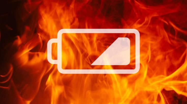 Van már olyan akku, ami akkor is működik, ha lángol kép