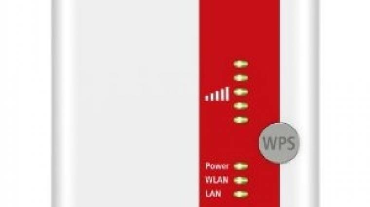 Kétsávos FRITZ!WLAN Wi-Fi repeater gigabites hálózattal kép