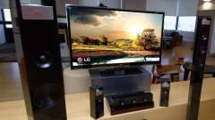 CES 2012: 9.1 csatornás LG házimozi kép