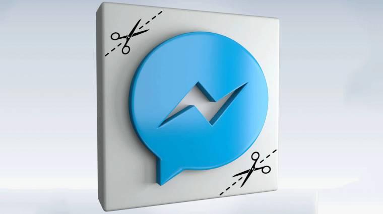 Tovább egyszerűsödött a Messenger app kép