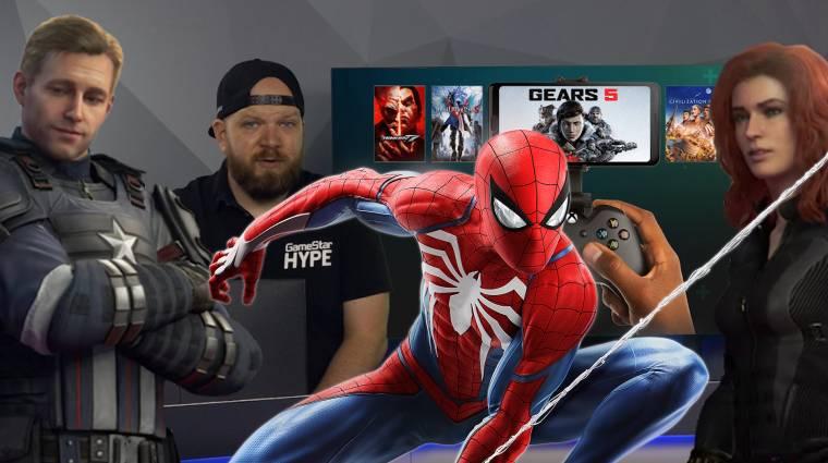 Pókember botrányosan csatlakozik a Bosszúállókhoz, kopogtat az xCloud bevezetőkép