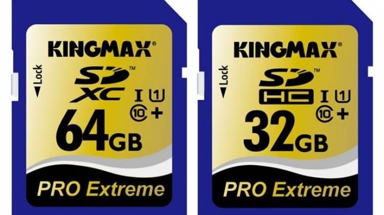 Itt a leggyorsabb memóriakártya kép