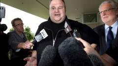 Dotcom szerint a Megaupload ügye politikai kérdés kép
